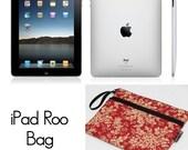 iPad Bag iPad Case iPad Sleeve Netbook Bag iPad Cover Ipad 1 Ipad 2 iPad 3 DELUXE IPAD ROO / - Fast Shipping -U Pick the Fabric