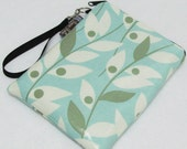 Kindle1,2,3 and Nook SMALL Top Zip fits without a cover- WASHABLE - by Borsa Bella Waterproof Fabric