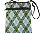 Nook Galaxy Microsoft Tablet Bag iPad Case iPad Sleeve iPad Cover Padded / Tablet TRAVEL BAG / - Fast Shipping - Argyle Fabric