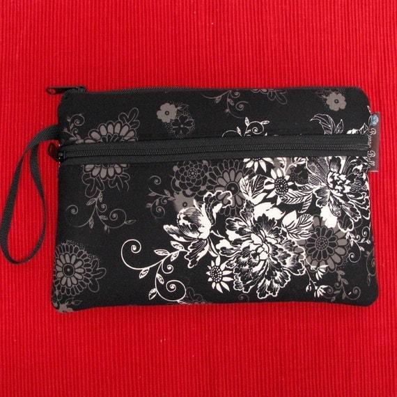 iPad Bag iPad Case iPad Sleeve Netbook Bag iPad Cover Ipad 1 Ipad 2 or 3 DELUXE IPAD ROO - Fast Shipping - Black Beauty Fabric