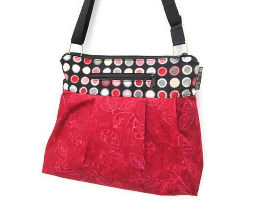 iPad Purse Kindle Handbag iPad Shoulder Bag Nook Purse Padded Electronics Pocket MEDIUM HOBO BAG 2-Tone Fabric