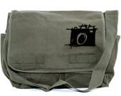 Messenger Bag, Sketch Camera, Crossbody Large Canvas Bag, Laptop Messenger Bag, Men's Messenger Bag, Camera Bag, Women's Messenger Bag