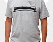 Drop the Needle T-Shirt - Heather Gray - Available Men's Sizes: Small, Medium, Large, or X-Large