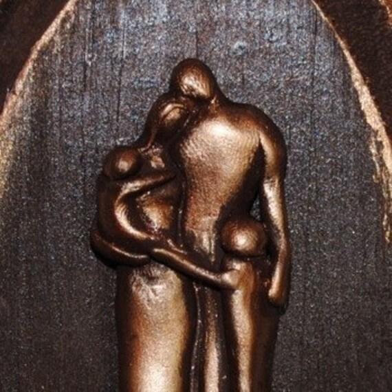Custom Bronze 8th Wedding Anniversary Family Plaque