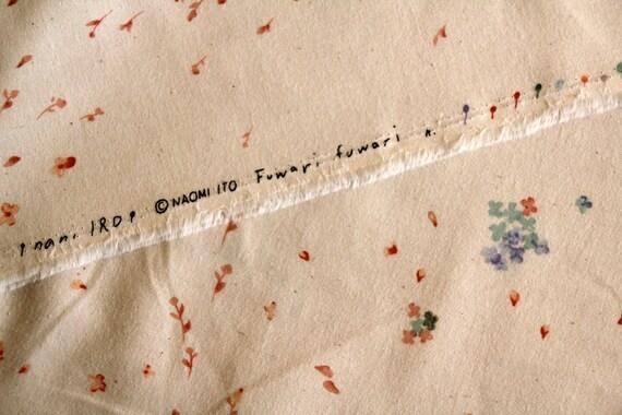 Nani Iro Japanese Fabric Fuwari fuwari 2 A/W - off white