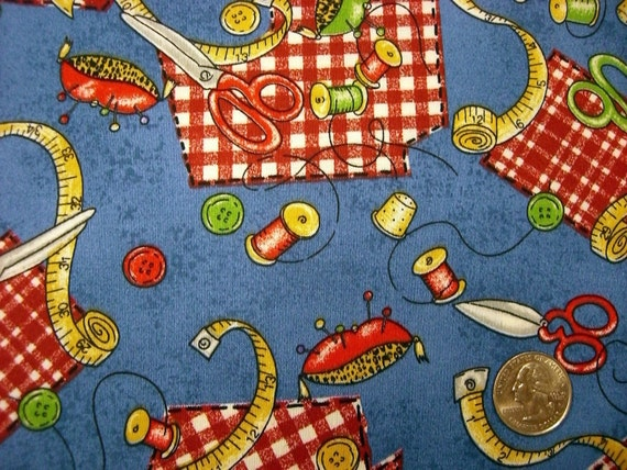 Clearance sale one yard cut quilt fabric sewing items on for Clearance craft supplies sale