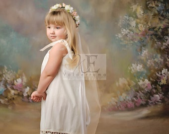 Beautiful Antique white pillowcase dress for little girls sizes 0 infant to 12 girls