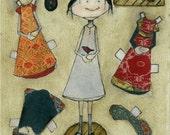 Agatha Rose Paper Dolls