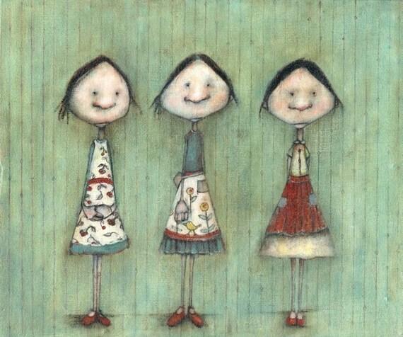 Three Aprons