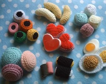 Amigurumi Candy Shop Sweets pdf crochet pattern