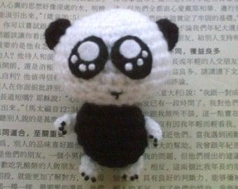 Amigurumi Panda Bear crochet pattern pdf