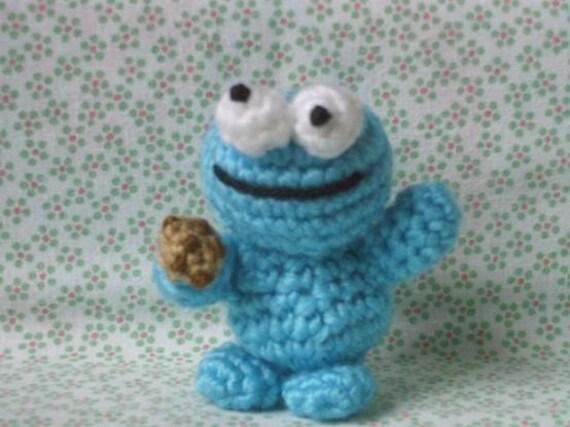 Amigurumi Cookie Monster : Amigurumi Cookie Monster crochet pattern pdf by lafeecrochette