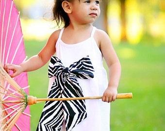 Zebra Dress Girl Size 2 4 6