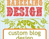 Blog Design and link setup