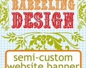 Semi-custom Web Banner Design
