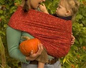 Organic  Baby Sling and Pattern- Natural in color