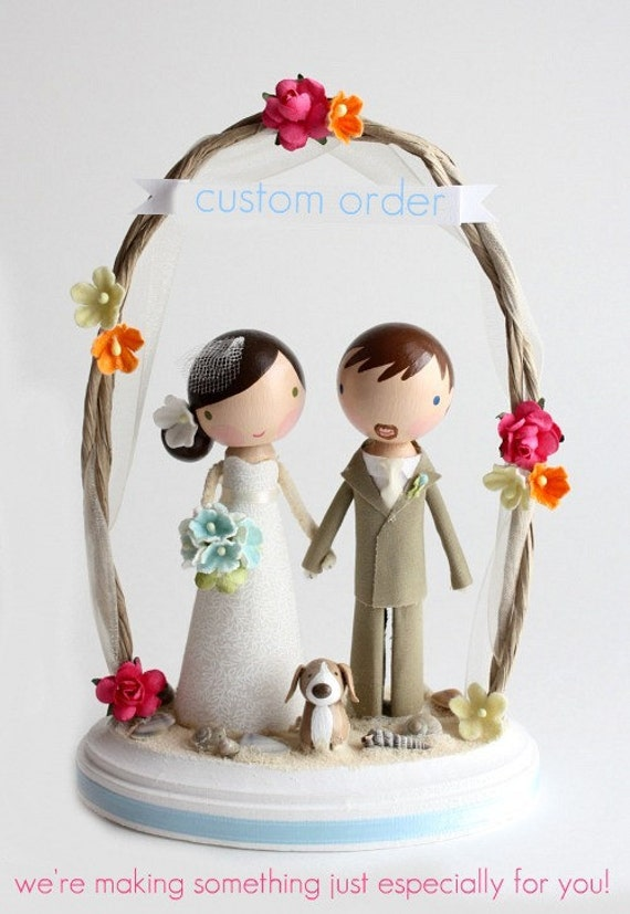 how to get wedding cake orders custom wedding cake topper order for by lollipopworkshop 15738