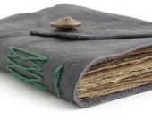 Antique Leather Journal with 200 year old pages