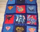 Superman Mini Quilt