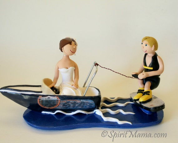 boat wedding cake topper items similar to custom wedding cake topper and 1991