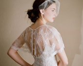 Mini bridal tulle veil - Mini tulle veil - Style 218 - Ready to Ship