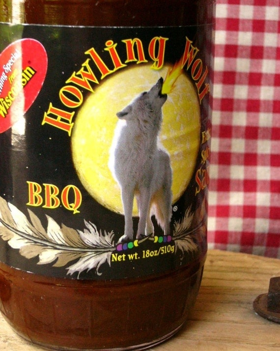 Extra Spicy BBQ - Howling Wolf Sauces - 18 oz bottle ... No High Fructose Corn Syrup