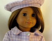 Fun Coat with Beret for 18 inch Doll