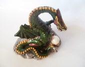 Green Prosperity Feng Shui Dragon
