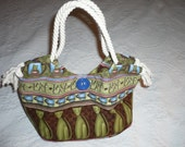 Adorable new Cats and Coffee JAVA CAT  Handbag Tote SALE SALE SALE