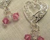 SweetHeart Sterling Earrings