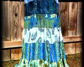 Custom Order REcycled and REconstructed Skirt