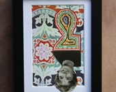 SALE: Grace Ann Meres, Spanish Club - Original Hand-cut Paper Art