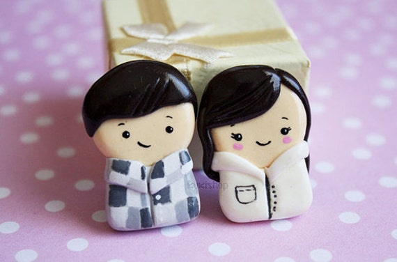 Couple Figurines Personalized Gift - Valentine's day gift
