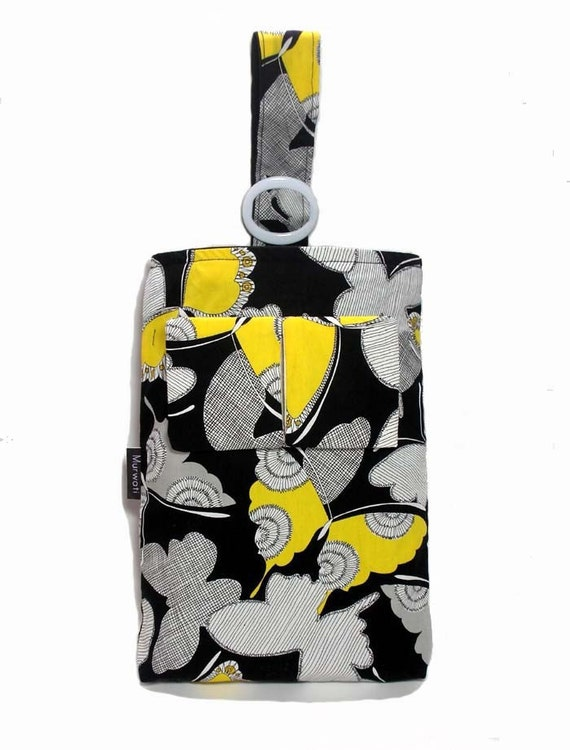 Butterfly-Car litter bag with tissue holder