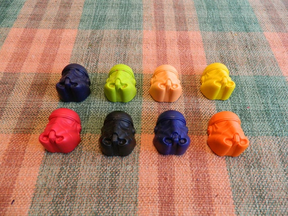 Star Wars Tropper Crayons Recycled/Upcycled