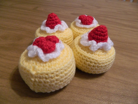 Crochet Cheesecakes