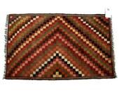 Vintage Carpet, Rug- Afghanistan, Handwoven Central Asian Gobi, 4