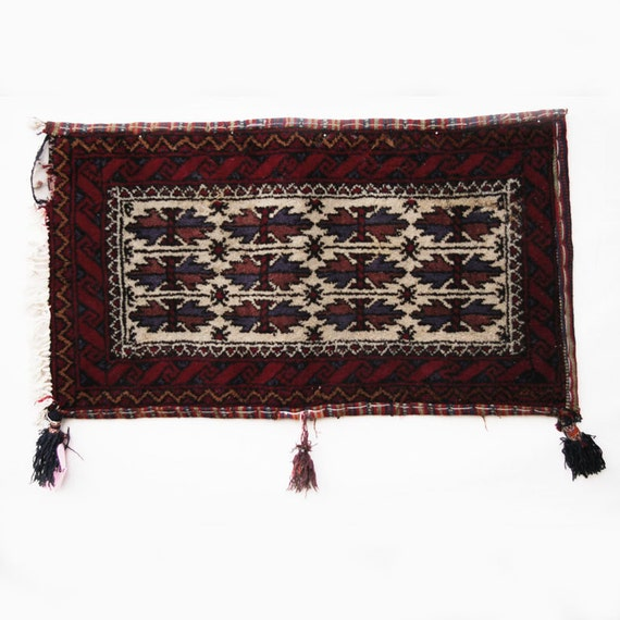Baluchi Tribal Carpet Floor Pillow, Item 15