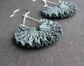 SALE - sage earrings