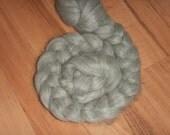 Grey Alpaca Top Fiber