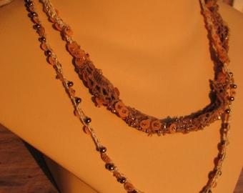 Lace Me Up Necklace