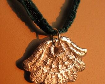 Lace Fan Necklace