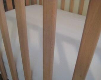ORGANIC CRIB Bedding - SOY Fitted Crib Sheet