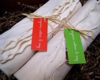 Baby Blanket - ORGANIC SOY - Swaddling, Receiving