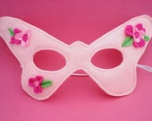 Pink Butterfly Mask