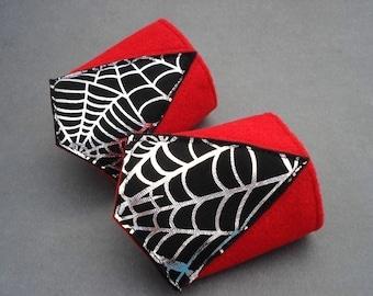 Spider Superhero Wrist Cuffs - Superhero Party - Costume Accessory - Pretend Play