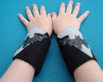 Bat Superhero Cuffs - Wrist Cuffs, Pretend Play