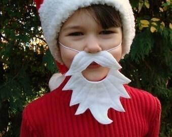 Santa Felt Beard - Kids' Size