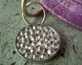Swarovski Rhinestone Pet ID Tag Personalized Crystal