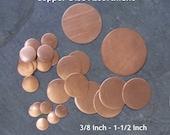 Copper Disc Assortment Pack- WOW
